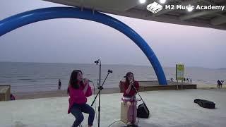 [취미] #3 대천해수욕장 버스킹 '옥상달빛 - 수고했어, 오늘도' / 엠투실용음악학원