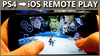 PS4 Remote Play On IOS Explained How To Play PlayStation 4 Games On IPhone IPad 6 50 Update