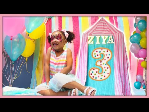 Ziya's 3rd Birthday Party!