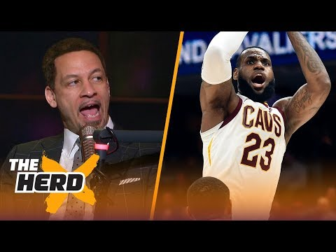 Chris Broussard on Kawhi's drama, LeBron's triple-double stats and more | THE HERD
