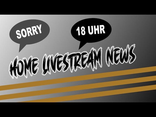 NEWS LIVESTREAM AT HOME | Lets do it - NEWS #3