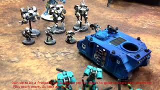 Warhammer 40k 8th ed Pro Tip#1  How To Stop Overwatch Fire