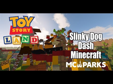 Slinky Dog Dash Minecraft | MCParks | Walt Disney World