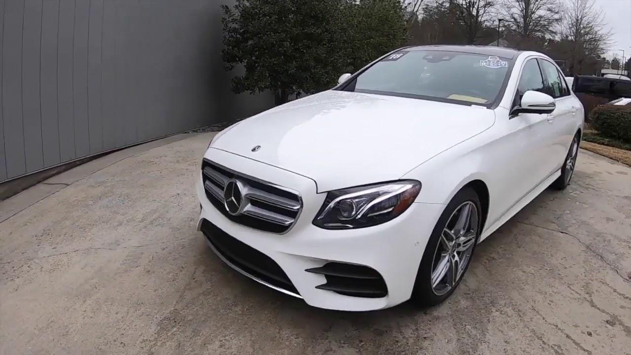 Certified 2018 Mercedes-Benz E-Class Atlanta GA Sandy ...