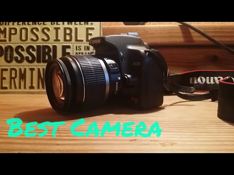 Canon Rebel XS DSLR Camera Review.