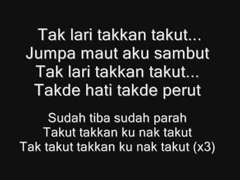 Lirik Lagu Cobaan-Zizan Razak(ost Abang Long Fadil)