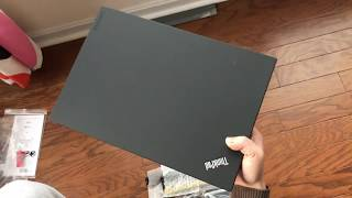 Unbox: ThinkPad T580