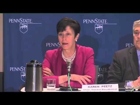 Penn State Board of Trustees Press Conference, 02/17/14
