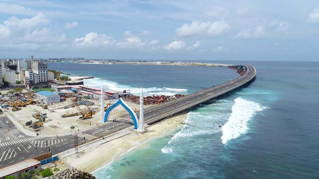 China Maldives Friendship Bridge Opens To Traffic