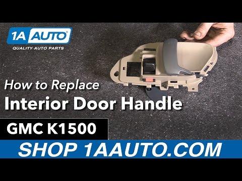 How to Replace Interior Door Handle 95-99 GMC K1500