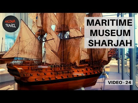 MARITIME MUSEUM SHARJAH. Modern space with exhibits on marit