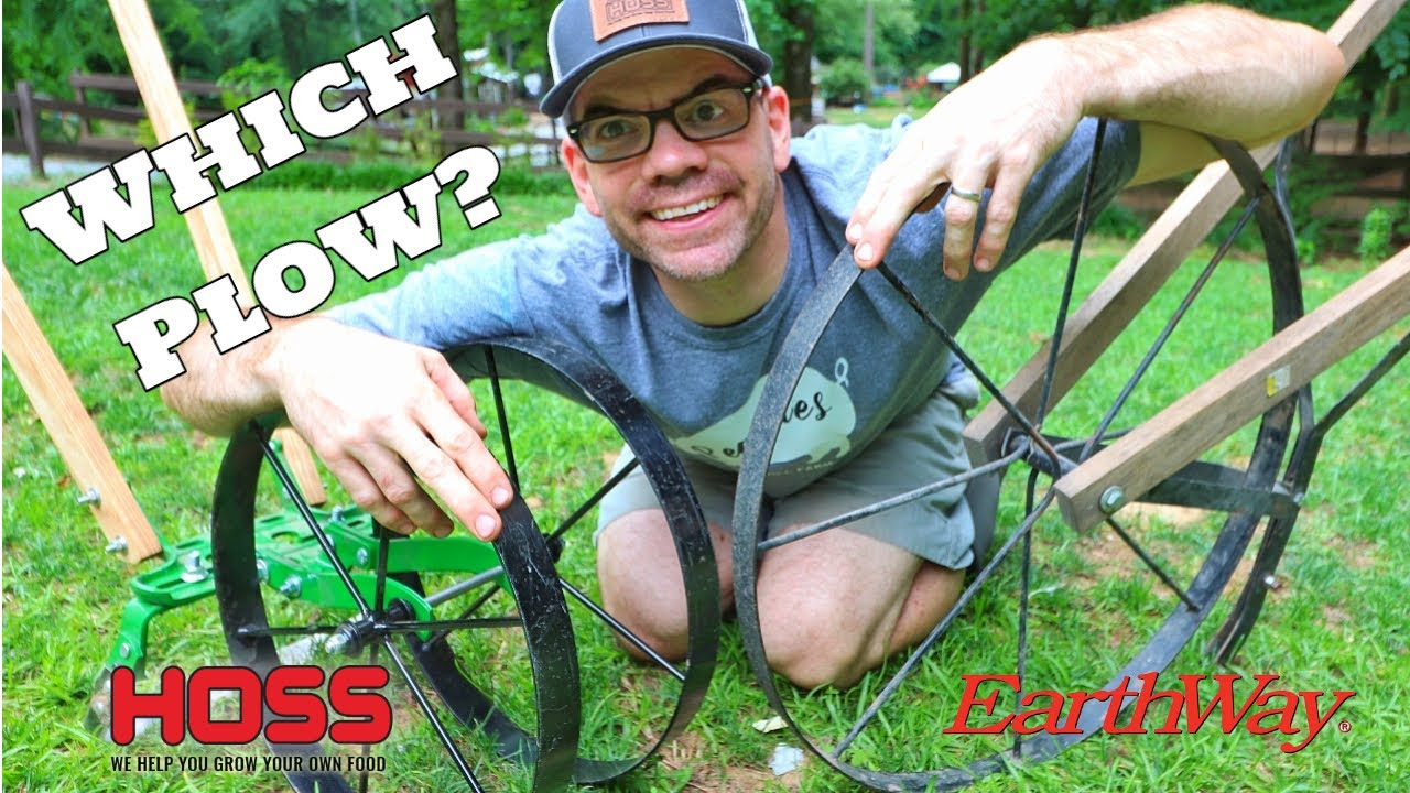 PLOW WARS! The Hoss Plow vs The Earthway Plow (WHO WINS?)