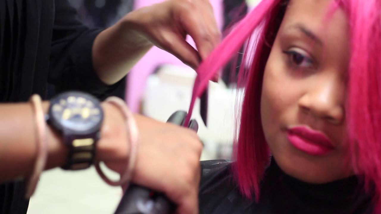 Alonda Denise Hair Cut And Color Huntsvillemadison Al Youtube
