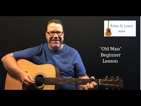 Old Man Neil Young How To Play Easy Acoustic Guitar Lesson