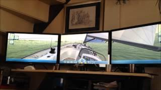 Sail Simulator 5 (3 screens)