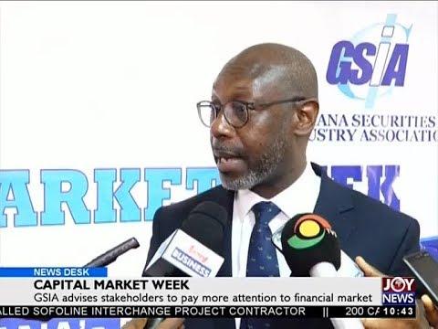 Capital Market Week - Business Desk on Joy News (24-10-17)