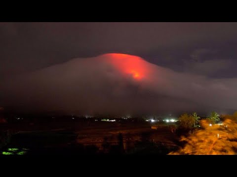 The Philippines' most active volcano threatens to erupt
