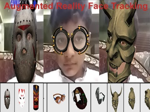 Augmented Reality Face Tracking Create your own Snapchat with Unity3D