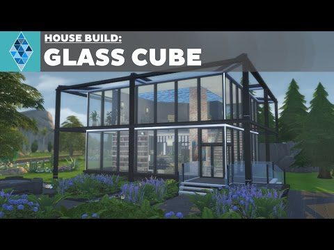 The Sims 4 - House Build - Glass Cube