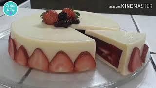 Gelatina de Leche Condensada Rellena de Frutos Rojos / navidad / Cocina con Jenny