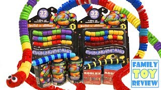 Build a Slither Mini Toys 🐍 NEW Roblox Series 3 Toys & Slither.io Toys 🐛 LONGEST SLITHER IN WORLD