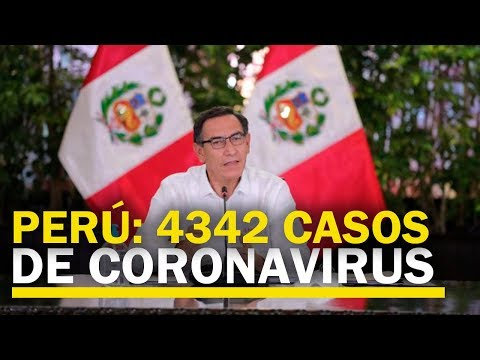 Perú: 4342 Casos Positivos De COVID-19