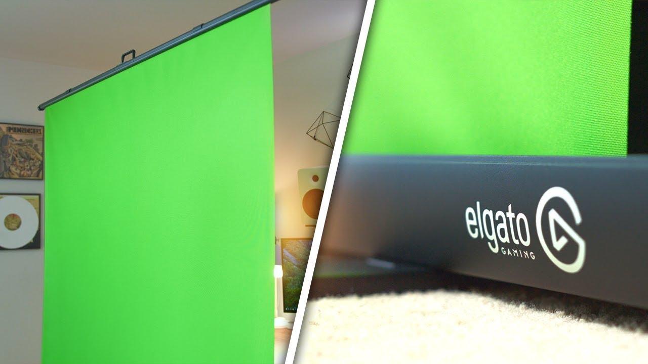 elgato green screen  Elgato Green Screen Review! - YouTube