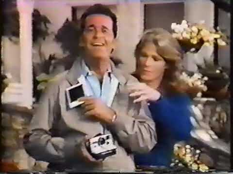 James Garner & Mariette Hartley 1980 Polaroid One Step ...