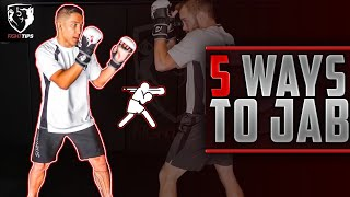 5 Ways to Use the Jab in MMA
