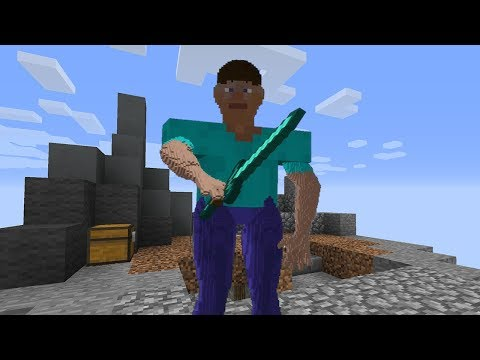 So I Used A Cursed Minecraft Skin To Confuse Noobs...