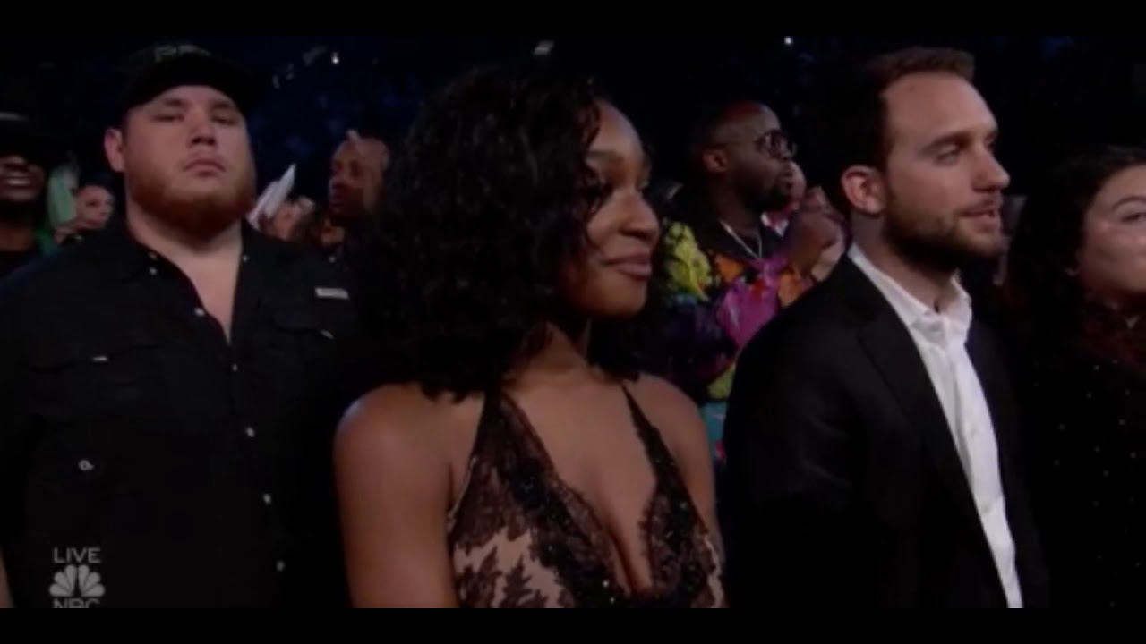 "Normani Watching Ex-Member Camila Cabello Perform ""Sangria Wine"" with Pharrell"