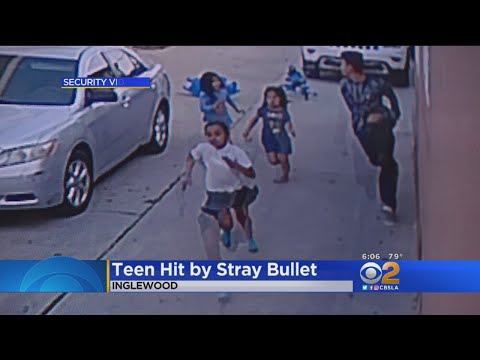 Boy, 13, Hit By Stray Bullet During Gang Shootout In Inglewood