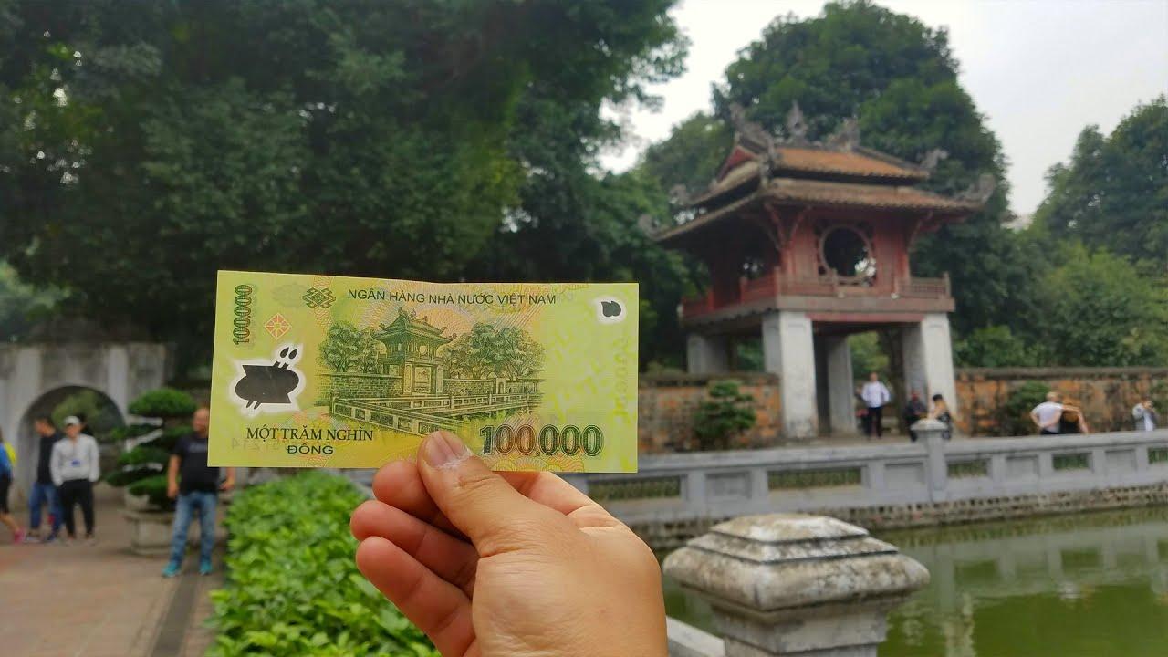 Đã tìm thấy địa danh in trên tờ 100k tại Văn Miếu-Quốc Tử Giám | temple of literature