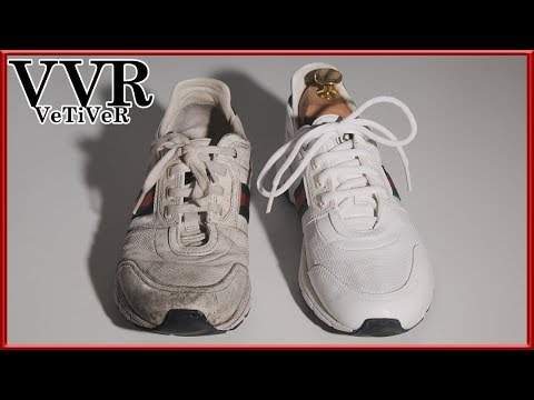 "[ASMR] Clean & restore ""GUCCI"" ""Sneakers""  4k"