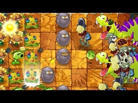 เกมส์พืชปะทะซอมบี้ 2: Jurassic Marsh - Day 18