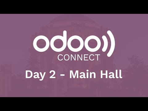 #OdooConnect 2019 Day 2 - Main Hall (Late Afternoon)