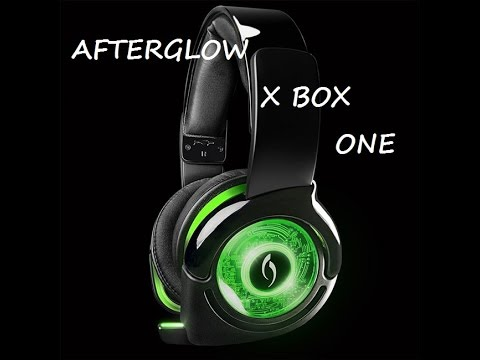 mon casque audio afterglow xbox one et p v e youtube. Black Bedroom Furniture Sets. Home Design Ideas