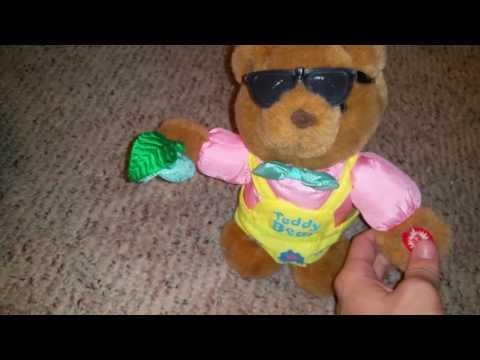 DanDee animated singing teady bear