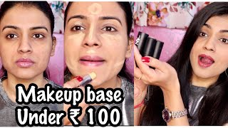 NY BAE CONCEALER STICKS REVIEW |Full Face Makeup Using Ny Bae Concealer Sticks | Makeup Under Rs 100
