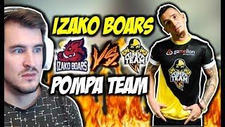 IZAKO BOARS VS POMPA TEAM !!! DERBY POLSKIEGO YT, CLUTCH 1vs3 WYGRANY MOŁOTOWEM !!!