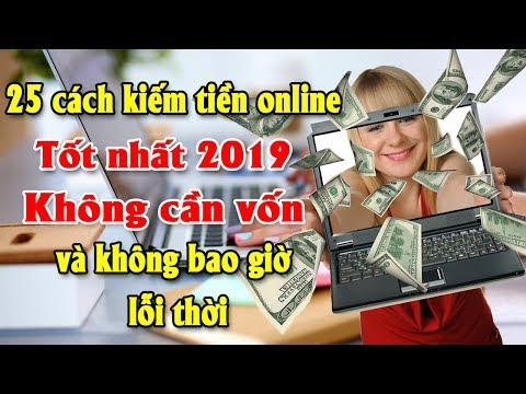 25 Cách Kiếm Tiền Online Tốt Nhất 2019 Không Cần Vốn Và Không Bao Giờ Lỗi Thời |Tài Chính Kinh Doanh