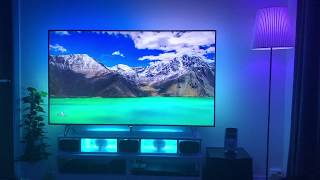 Philips Ambilight 4K + Philips Hue EXTREME Maximum lamps!