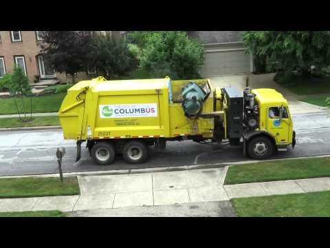 Columbus trash pickup — powered by CNG