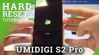 How to Hard Reset UMIDIGI S2 Pro - Bypass Screen Lock / Factory Reset