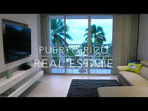 Puerto Rico Real Estate Beach Front Stunning Condo Sale ESJ Tower Isla Verde