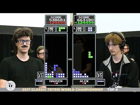 Top 4 - 2017 Classic Tetris World Championship Episode 4