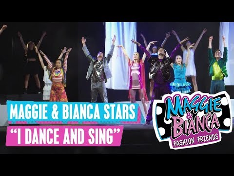 MAGGIE & BIANCA 🎵 Maggie & Bianca Stars - I Dance And Sing | Disney Channel Songs