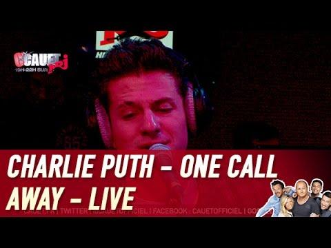 Charlie Puth - One Call Away - Live - C'Cauet sur NRJ