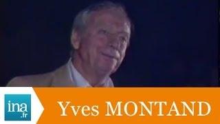 """Yves Montand """"Le Chant des Partisans"""" à Jerusalem (live) - Archive INA"""