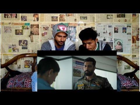 Pak Reaction | URI | Official Trailer | Vicky Kaushal, Yami Gautam, Paresh Rawal | Aditya Dhar